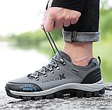 Кроссовки/ботинки мужские серые Dskchloe, фото 6