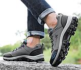 Кроссовки/ботинки мужские серые Dskchloe, фото 7