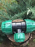 Тройник редукционный 63*32*63 мм Poelsan, фото 1