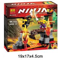 Конструктор Ninja NG 10316 Битва над пропастью