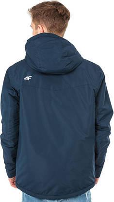 Куртка чоловіча 4F Ski Jacket S navy-dark, фото 3