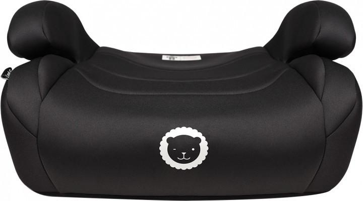 Детское кресло-бустер в автомобиль группа 2+3 (15-36 кг) Lionelo Luuk fix black
