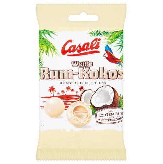 Конфеты Casali White Choco Rum Kokos 100 g