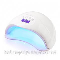 Лампа для маникюра SUN 5 Plus 48 Вт LED+UV. Белый цвет