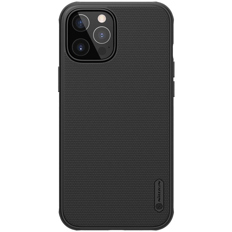 "Nillkin iPhone 12 Pro Max (6.7"") Super Frosted Shield Pro Black Чехол Бампер"