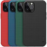 "Nillkin iPhone 12 Pro Max (6.7"") Super Frosted Shield Pro Black Чехол Бампер, фото 5"