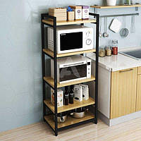 Стеллаж кухонный GoodsMetall металлический в стиле Лофт 1400х600х400 СТЖ1193