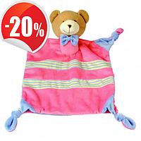"""Мягкая игрушка комфортер для малыша """"Медвежонок"""" Bino"""