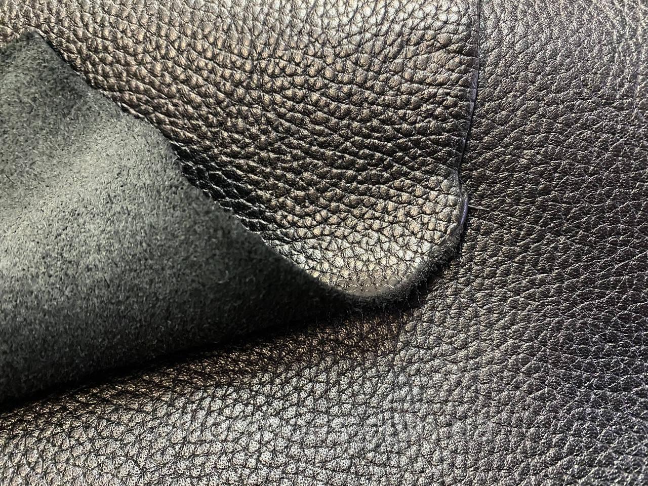 Натуральная кожа Флотар черный 1,7мм КРС