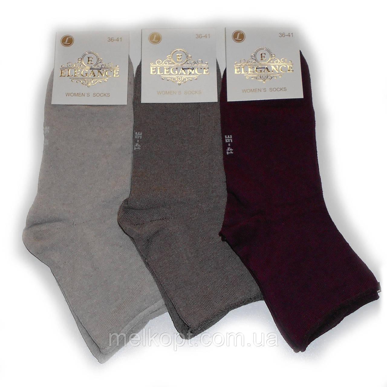 Женские носки без резинки Elegance - 9,50 грн./пара