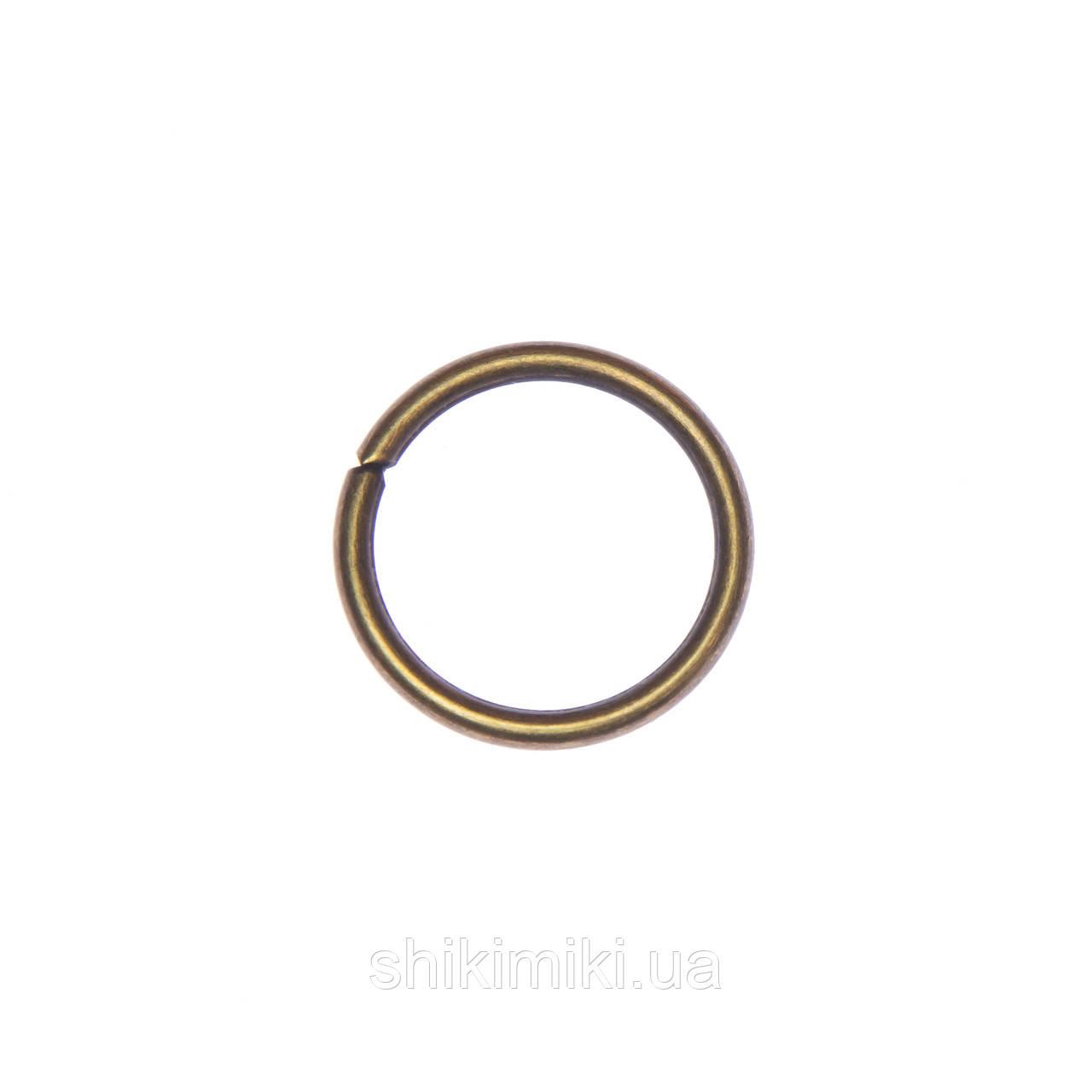 Кольца соединительные KL25-4 (25 мм), цвет антик