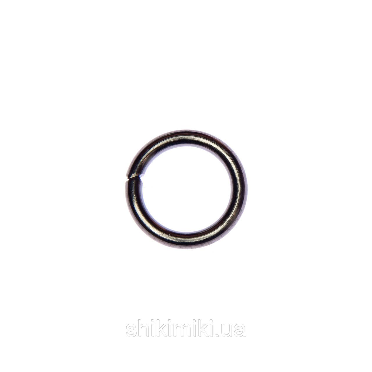 Кольца соединительные KL20-22 (20 мм), цвет черный никель