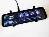 """DVR A2 Full HD 10"""" сенсорный экран. Зеркало заднего вида с видео регистратором, фото 4"""