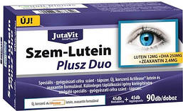 JutaVit для лечения глаз ,ультрасовременная формула с лютеином Eye-Lutein Plus Duo / 90шт/ Венгрия