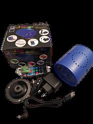 Лазерный проектор LED MINI Laser Stage Lighting с пультом ДУ
