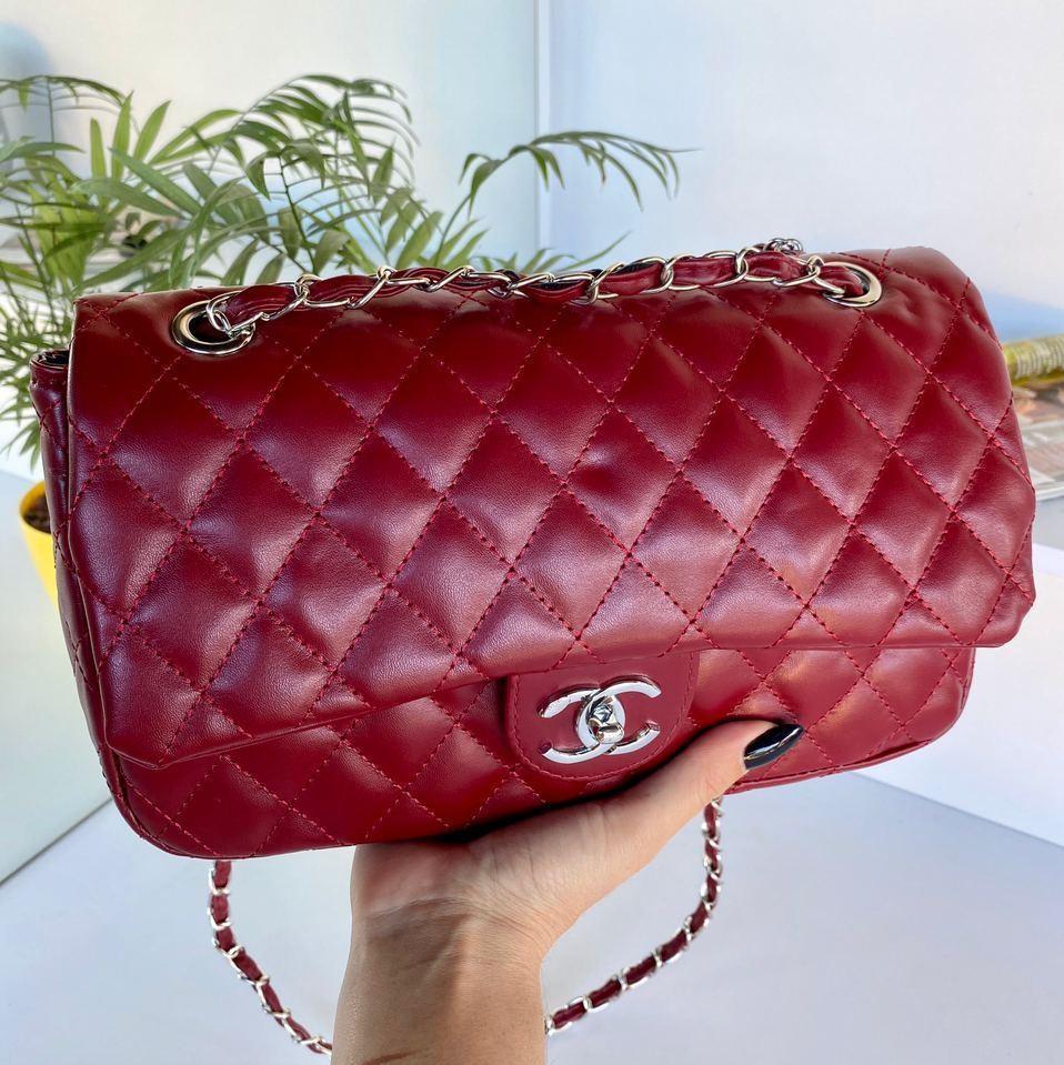 Женский клатч в стиле Коко бордовый Сумочка клатч Клатч женский модный Женская сумка клатч