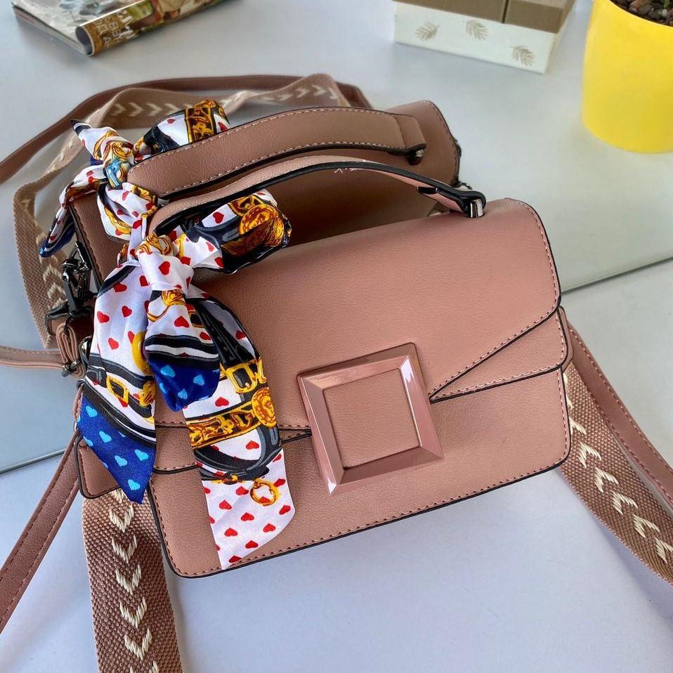 Женский клатч с двумя ремешками Сумочка клатч Клатч женский модный Женская сумка клатч