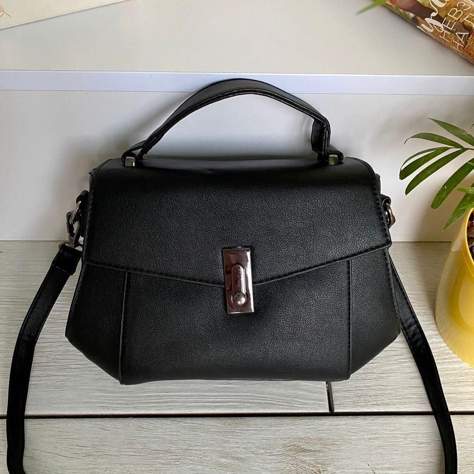 Женская сумочка Кэрри Черная женская сумка Сумка для девушки