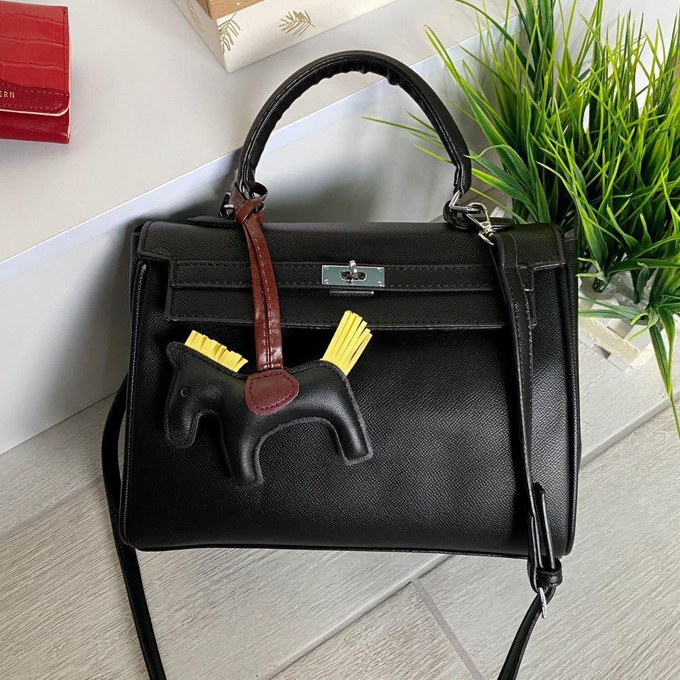 Женская сумка черная Женская сумка Сумка для девушки Модная женская сумка
