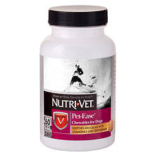 Успокоительный препарат Анти-стресс Nutri-Vet Pet Ease для собак 60 табл.