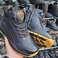 Зимние ботинки, спортивные кроссовки 38 размер для мальчика прошитые