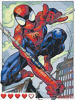 Картина по номерам (рисование по цифрам, живопись) 0036Л1 (Человек-паук | Spider-Man)