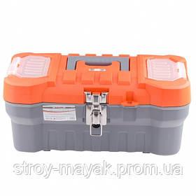 """Ящик для инструмента с металлическими замками 17.5х21х41 см (16 """") STELS"""