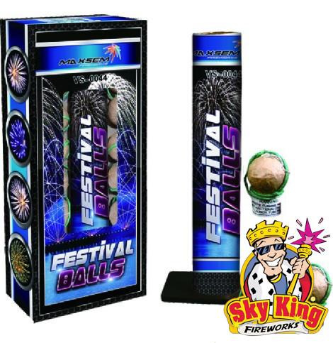 Миномет FESTIVAL BALL 38мм 12 выстрелов. Пиротехника и фейерверки