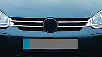Volkswagen Golf 5 Накладки на решетку узкие (4 шт, нерж)