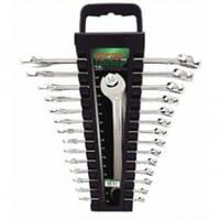 Набор ключей комбинированных 14st  6-24мм на холдере TOPTUL GAAC1401