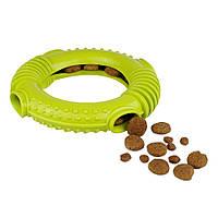 Іграшка для собак Bronzedog SMART мотиваційна Ринг 16 х 3 см салатовий