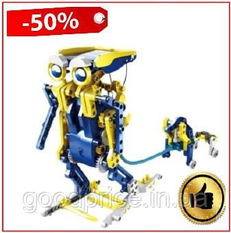 Робот конструктор на солнечной панели 11 в 1 RoboKit, робот конструктор робот кит