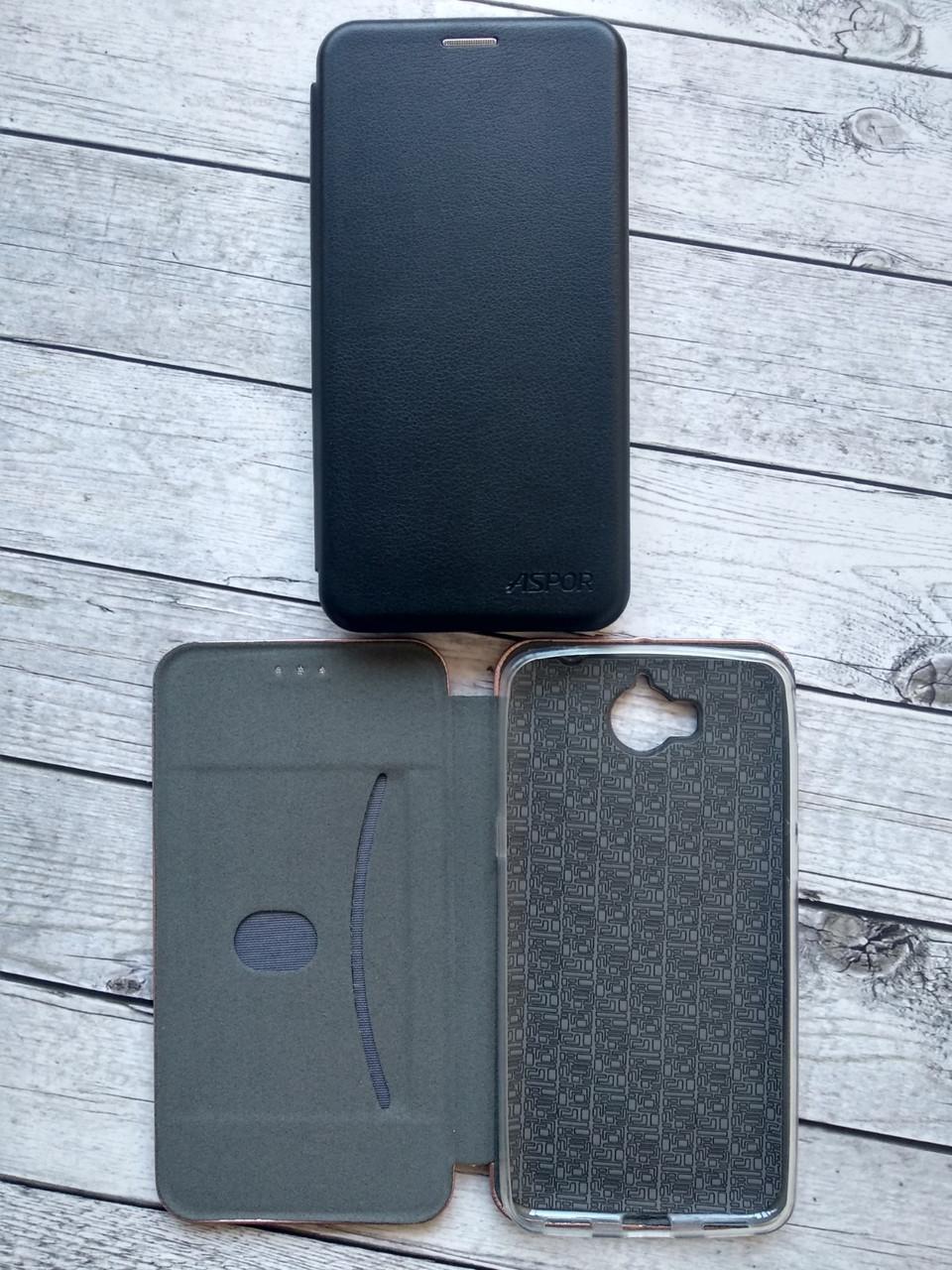 Чехол-книжка Flip Cover for Xiaomi Mi 6 Aspor Black