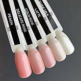 """7мл. Lint base gel """"Shine Milk"""". Базовое покрытие для ногтей, фото 2"""