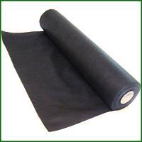 Агроволокно черное (Польша) 50г/м2, агроволокно мульчирующее, защита от сорняков.