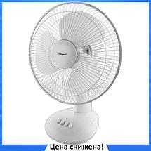 Вентилятор настольный DOMOTEC MS-1625 30 Вт - вентилятор с автоповоротом, 3 режима, фото 3