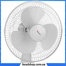 Вентилятор настольный DOMOTEC MS-1625 30 Вт - вентилятор с автоповоротом, 3 режима, фото 2
