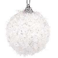 Елочные новогодние шары набор 6 шт*6 см, фото 1