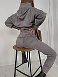 Костюм спортивный женский замшевый, фото 6