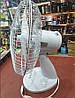 Вентилятор настольный DOMOTEC MS-1625 30 Вт - вентилятор с автоповоротом, 3 режима, фото 4