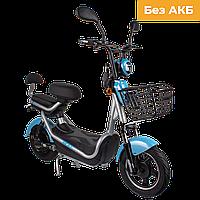 Електричний мопед CITY gy-4 500W/48V (сіро-блакитний)