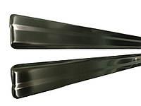 Nissan Juke 2010↗ гг. Накладки на пороги Carmos (2 шт, нерж), фото 1