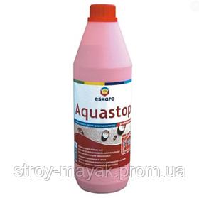 Грунтовка глубокопроникающая Eskaro Aquastop Professional концентрат 1:10 1 л