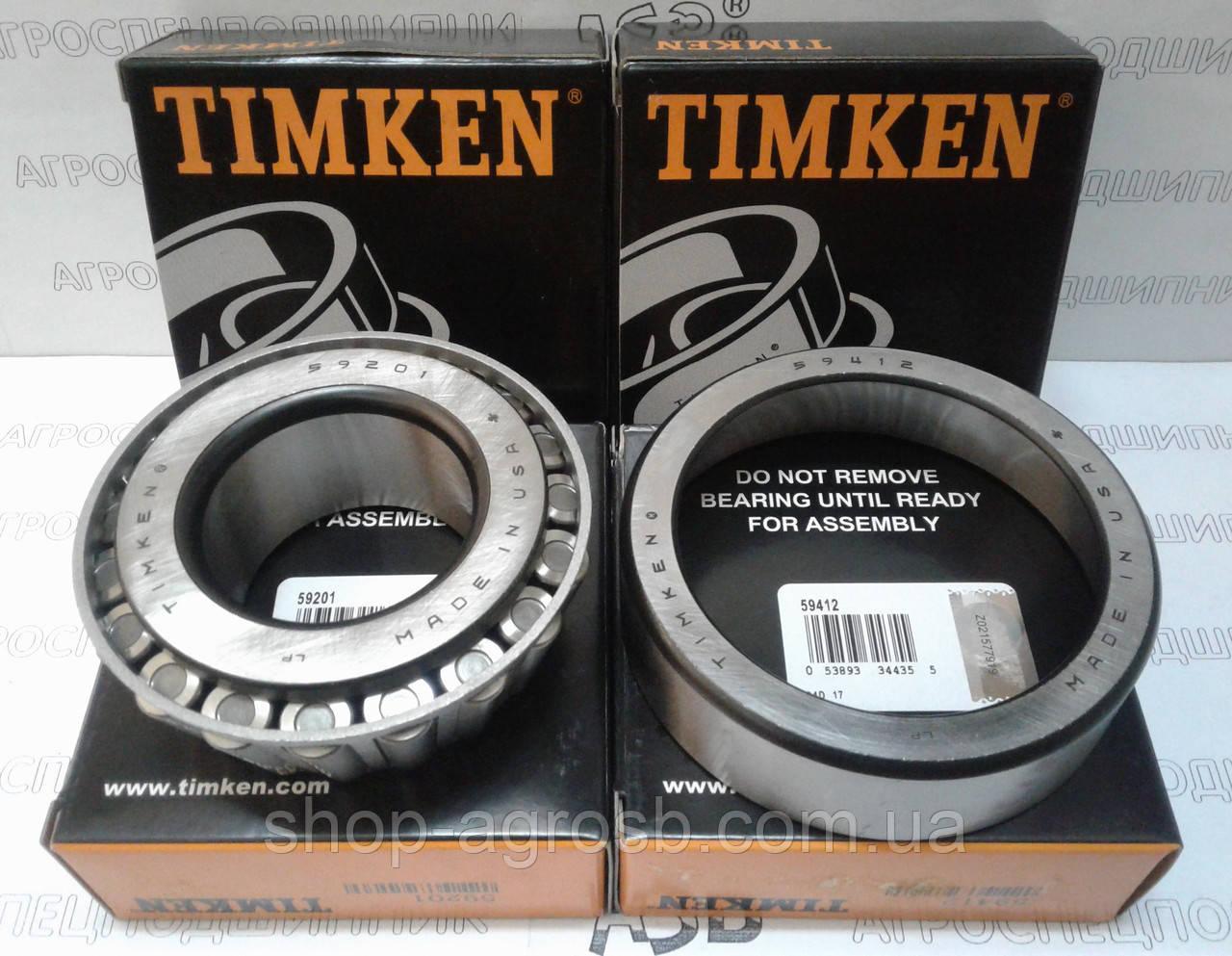 Подшипник TIMKEN 59201/59412
