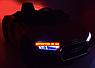 Дитячий електромобіль Ауді з шкіряним сидінням, Audi R8 Spyder чорний, фото 2