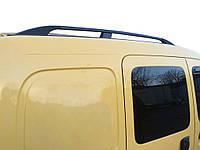 Renault Kangoo 1998-2008 гг. Рейлинги Черные Стандартная база, Чугунные ножки