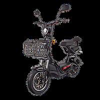 Електричний мопед R1 RACING Athena 500W/48V/20AH(DZM) (чорний)