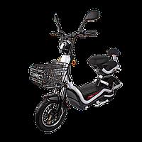 Електричний мопед R1 RACING Athena 500W/48V/20AH(MG) (білий)