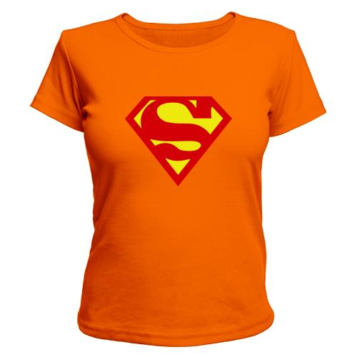 ... Футболка женская принт супермен 0de7840c41240