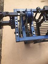 Картофелекопалка с двумя цепными редукторами ШИП (низкооборотистая, под ВОМ для мотоблоков 105, 135, 1100)